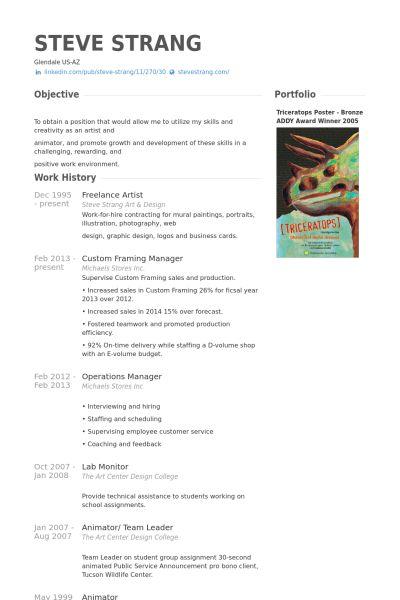 Artist Resume Format Artist Resume Sample Writing Guide Resume - art resume template