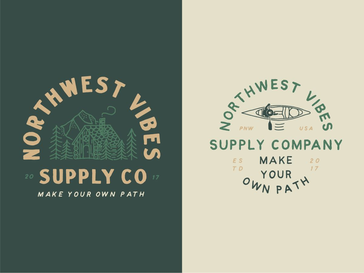 Northwest Vibes Supply Co by James Lafuente