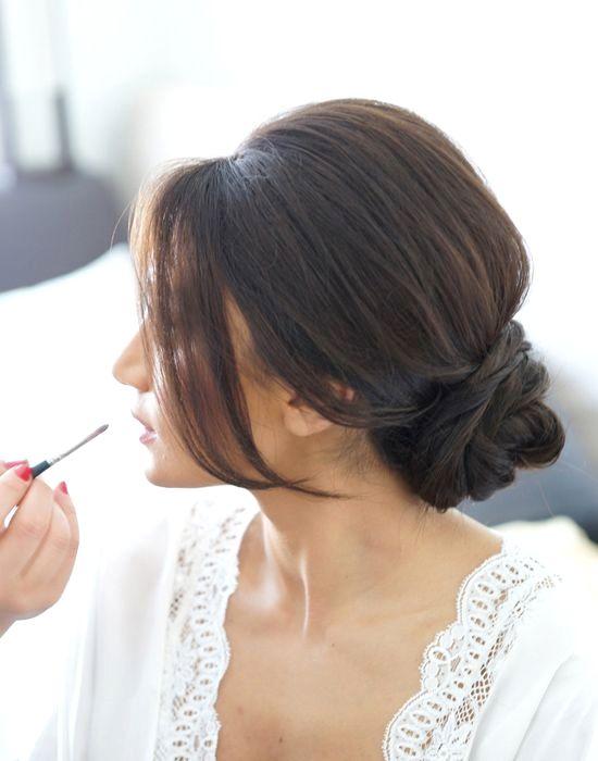 Bridesmaids Hairstyles Chignon Ideas