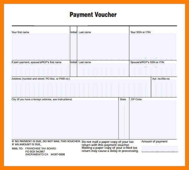 payment voucher template node2003-cvresumepaasprovider - loan payment coupon template