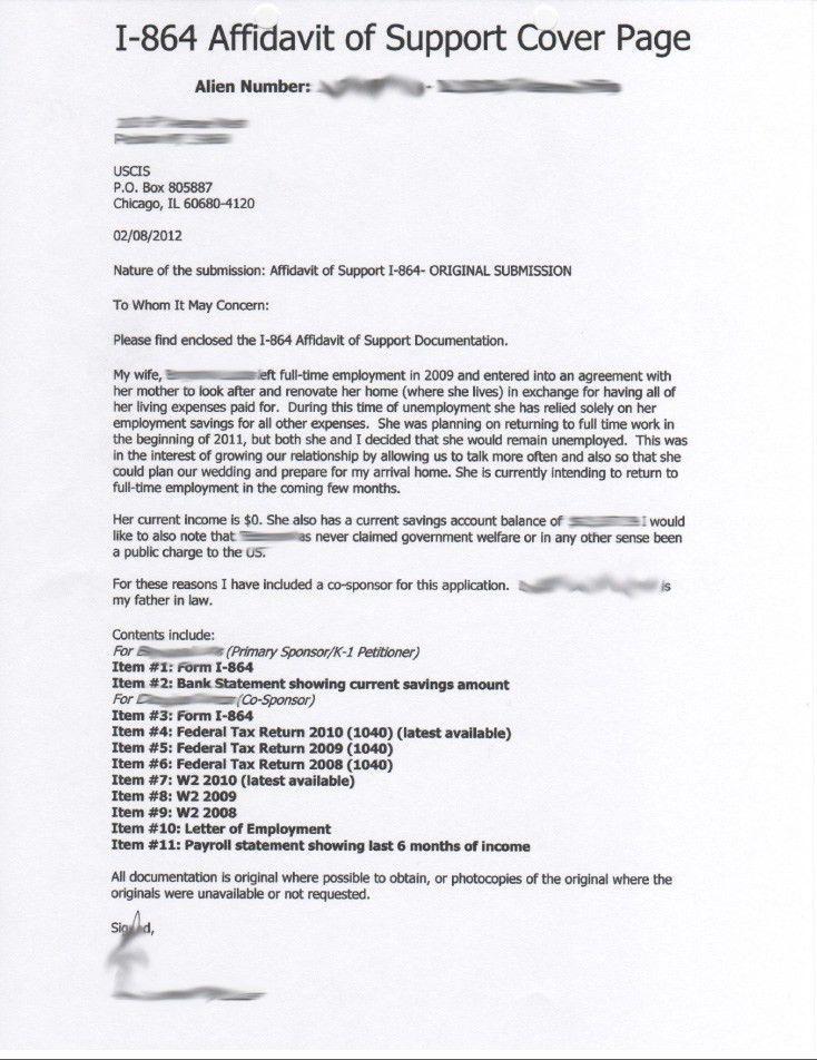 i 485 aos cover letter. sample cover letter k1 visa adjustment ...