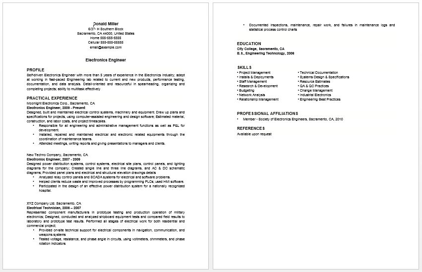 homemaker resume sample how to create a resume after being a