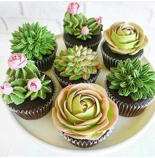 more succulent cupcakes