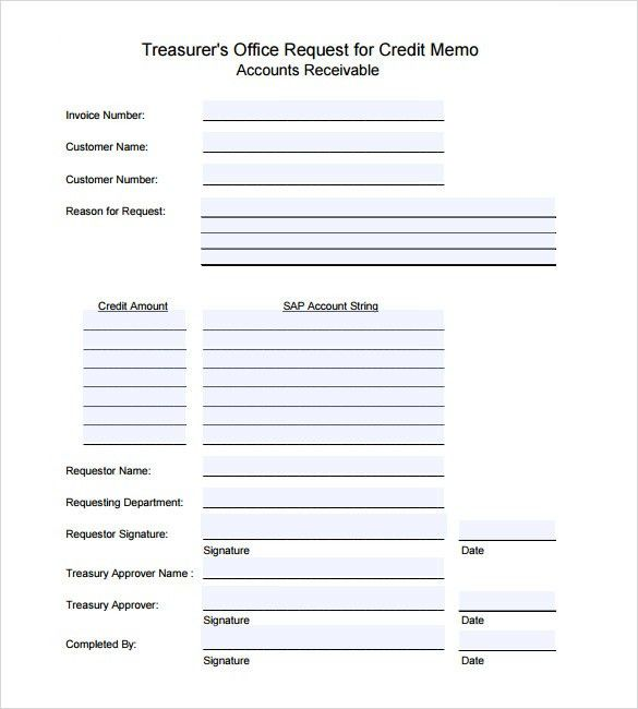 ... Credit Note Request Form Credit Note Template 8 Free Word Pdf   Debit  Note Form ...  Credit Note Request Form