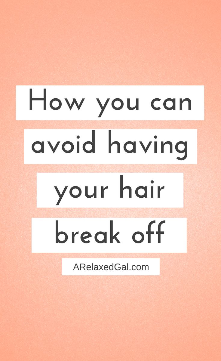 When you comb your hair are you finding little pieces of hair on the counter and floor? Are you finding that your hair isn't getting any longer? It sounds like you have hair breakage. Here are some times for how to stop it. | A Relaxed Gal #hairbreakage #healthyhairtips #longhair #relaxedhair