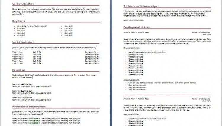 Australia Resume Format Kava In Australia Australian Resume