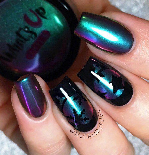 Top Glamour Chrome Nails Art Ideas Trends – Fashonails