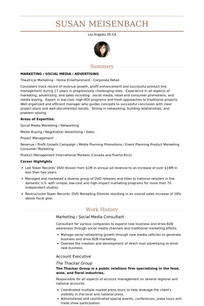 social media consultant sample resume node2004-resume-template - Social Media Consultant Sample Resume