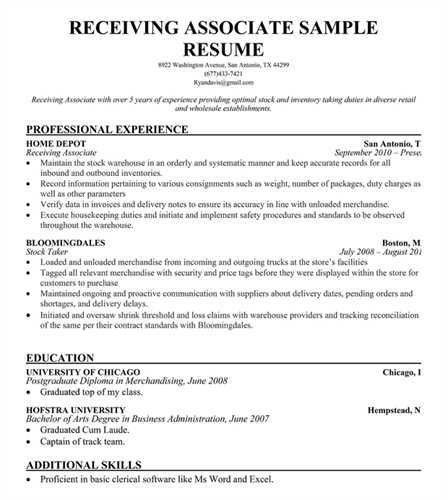 stock clerk resume stock clerk resume sample grocery store objective