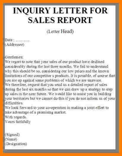 ... Business Inquiry Letter Sample Business Letter Inquiry Sample   Letter  Of Inquiry ...  Business Inquiry Letter Sample