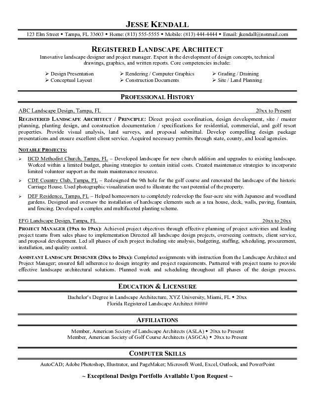 landscape architect cover letter architect cover letters architectural resume examples