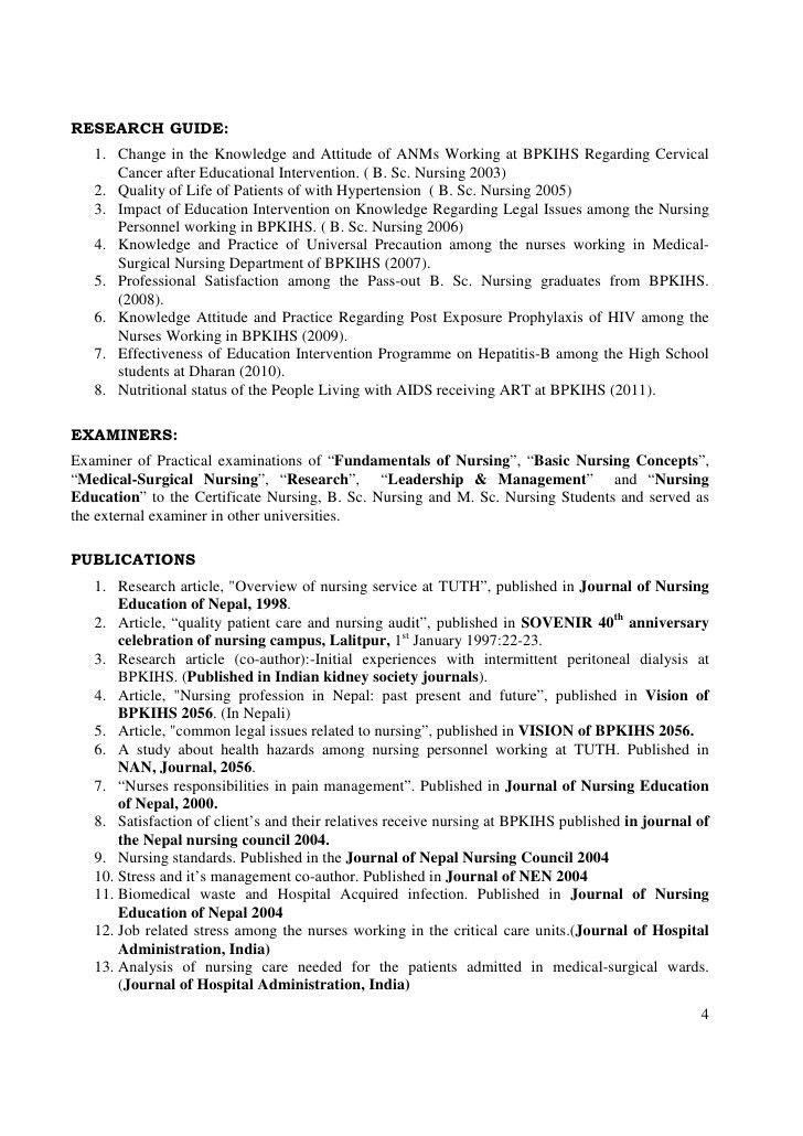 nurse researcher sample resume clinical research nurse sample nih nurse sample resume - Research Nurse Sample Resume