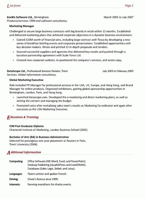 Resume Highlights Examples Unforgettable Customer Service