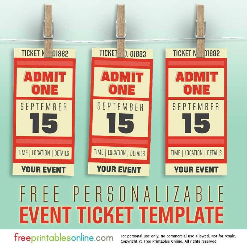 Christmas Party Tickets Templates Merry Christmas Party Ticket - print your own tickets template free