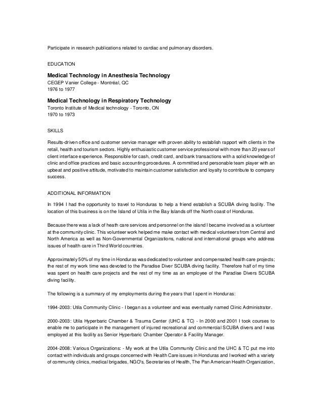 Anesthesiologist Cover Letter | Cover Letter