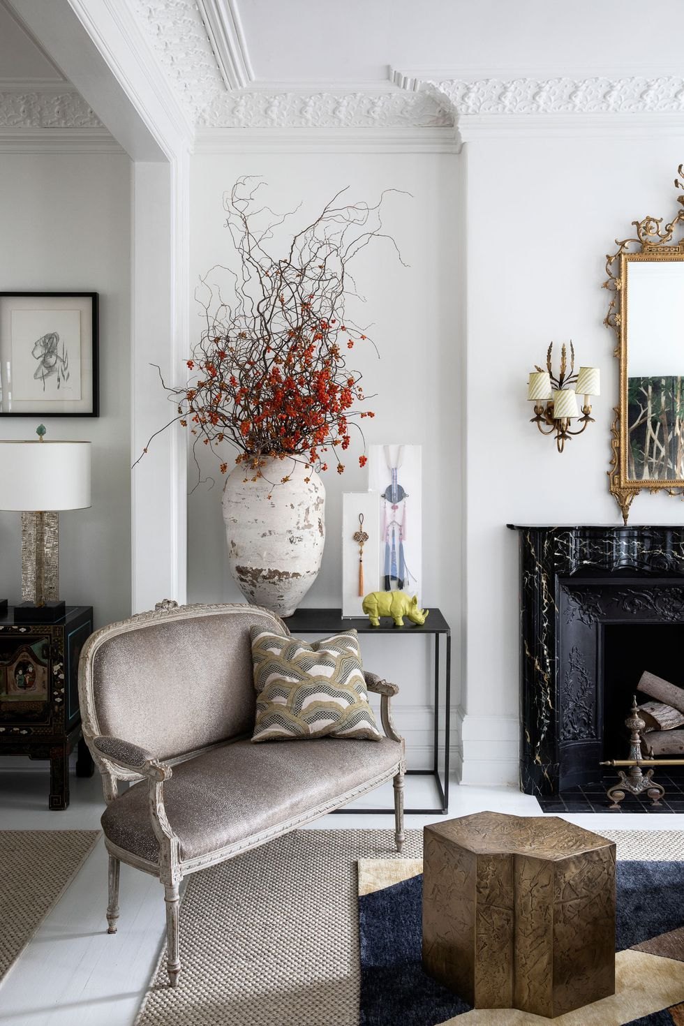 Living Room Decoration Ideas with Shop The Look Pins for Interior Design #interiordesign #homedecor
