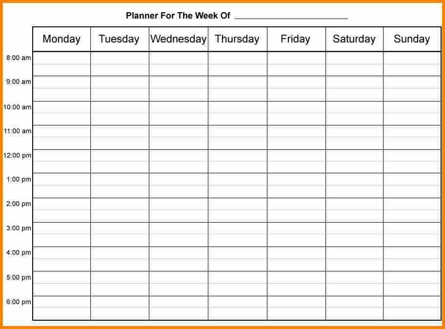 3 Week Calendar Template Weekly Calendar Template For Excel - weekly calendar printable