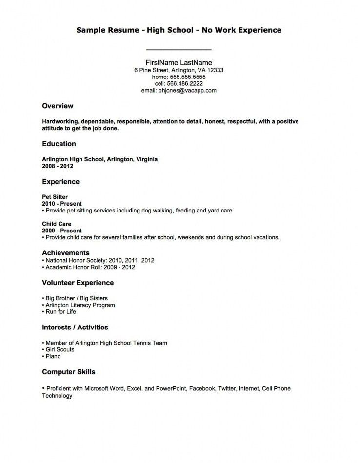 Resume Without Objective Resume Without Objective Berathencom