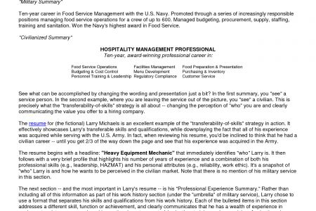 navy resume builder navy to civilian resume example navy - Navy Resume Builder
