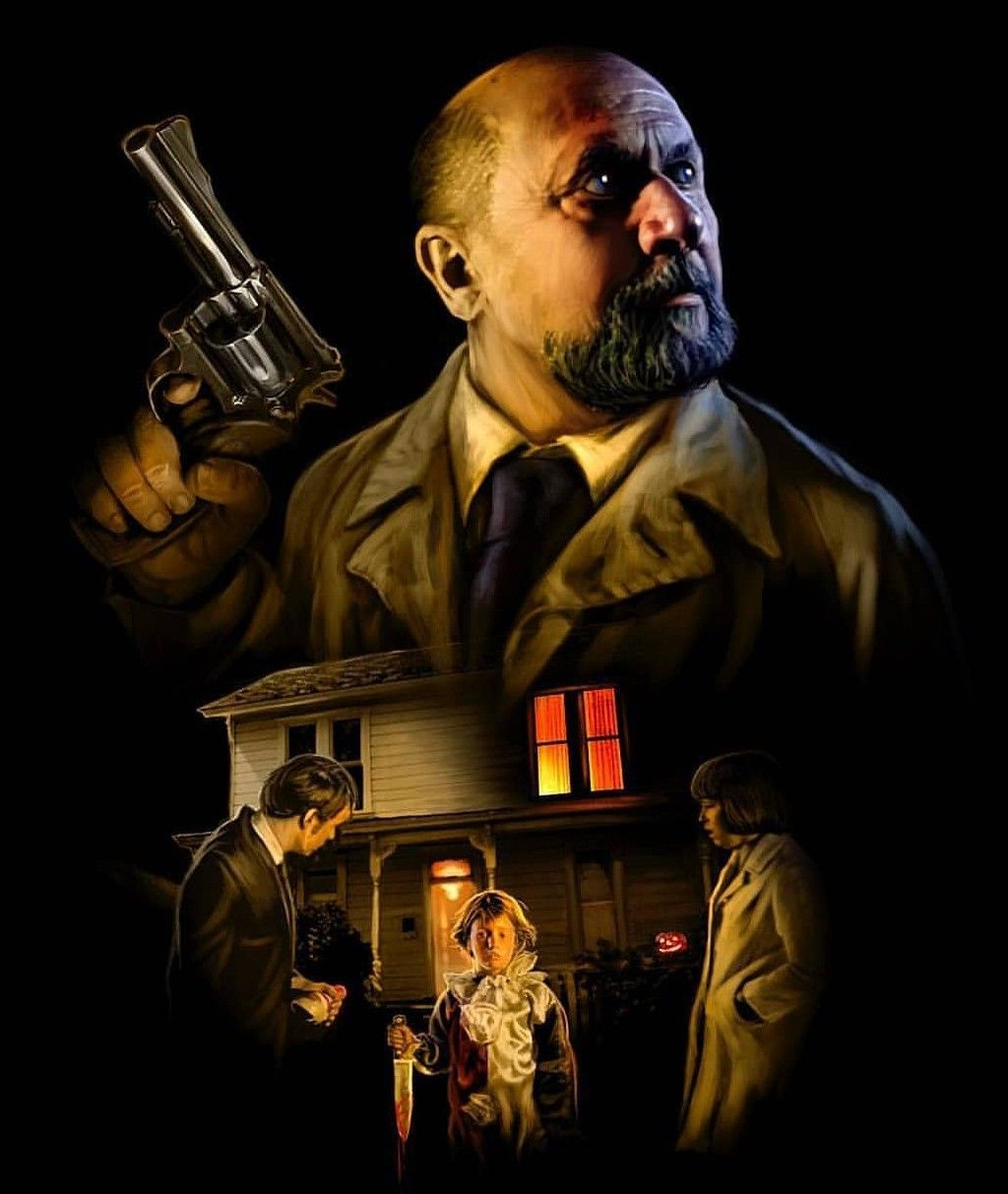 Halloween Dr. Loomis Michael Meyers Horror movie icons
