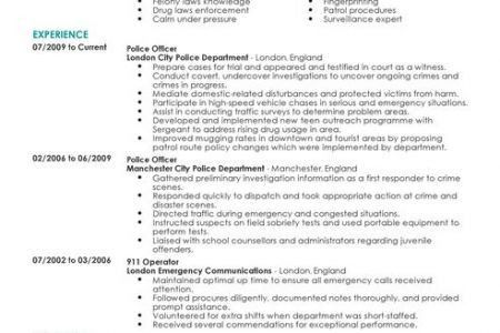 Dispatch Operator Sample Resume Professional 911 Dispatcher