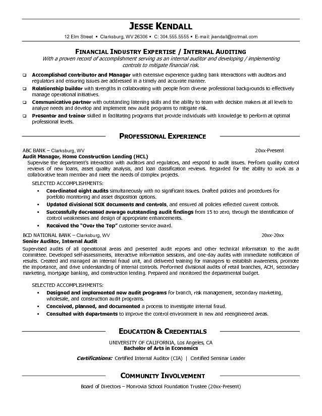 Internal Audit Analyst Cover Letter | Node494 Cvresume.cloud .