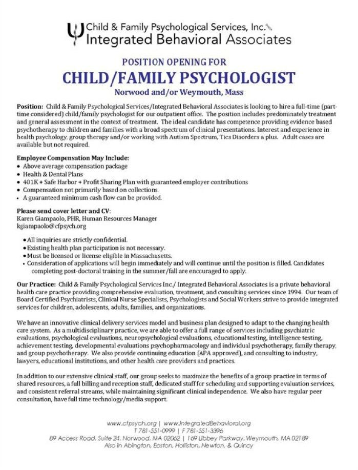 Behavioral Specialist Consultant Cover Letter | Env 1198748 Resume .