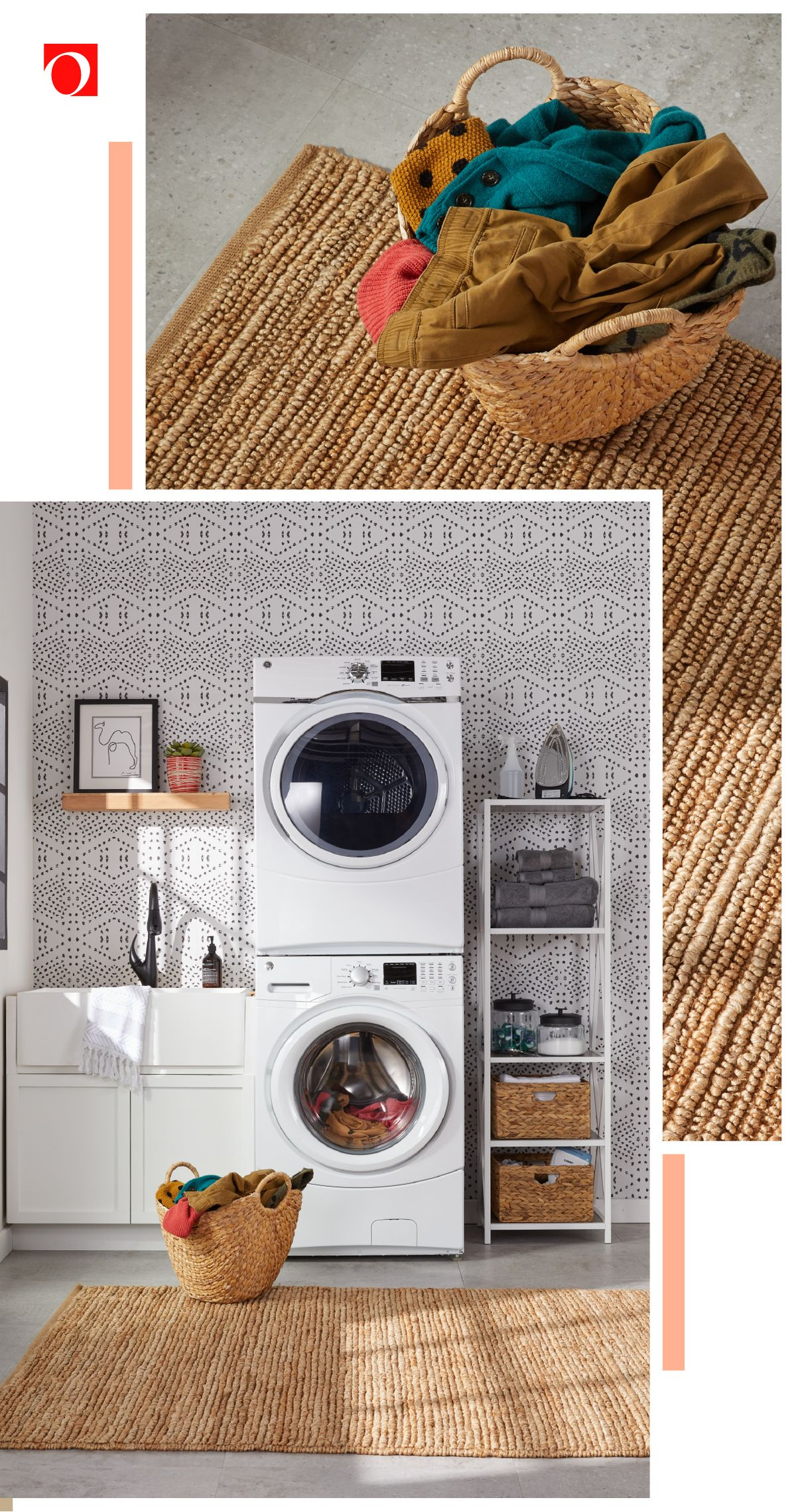 Give your laundry room the refresh it deserves with Overstock's amazing deals on laundry essentials, where quality costs less. #laundry #laundryroom #washeranddryer #clothing #clothescare #homedecor #laundryroomdecor #homedecorating #home #homegoods #accentdecor #mudroom #laundryspace #washingclothes #homeappliances #overstock