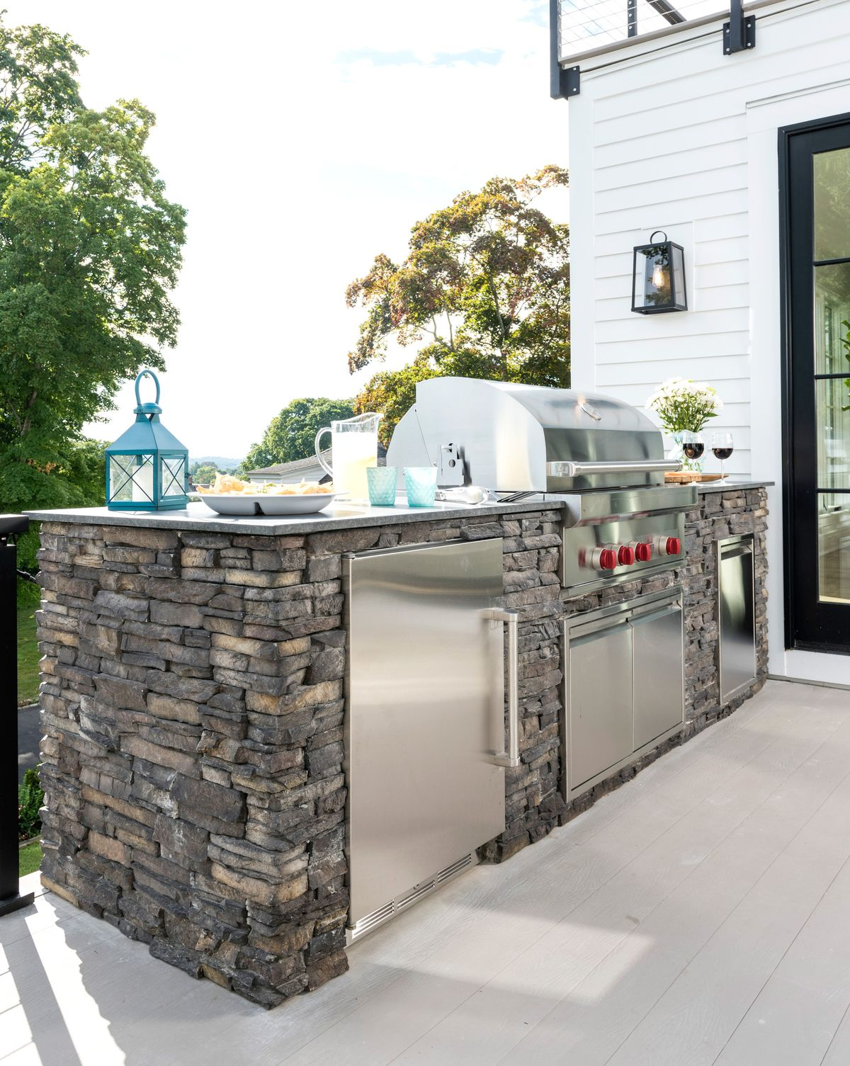 Ready-to-Install DIY Outdoor Kitchen