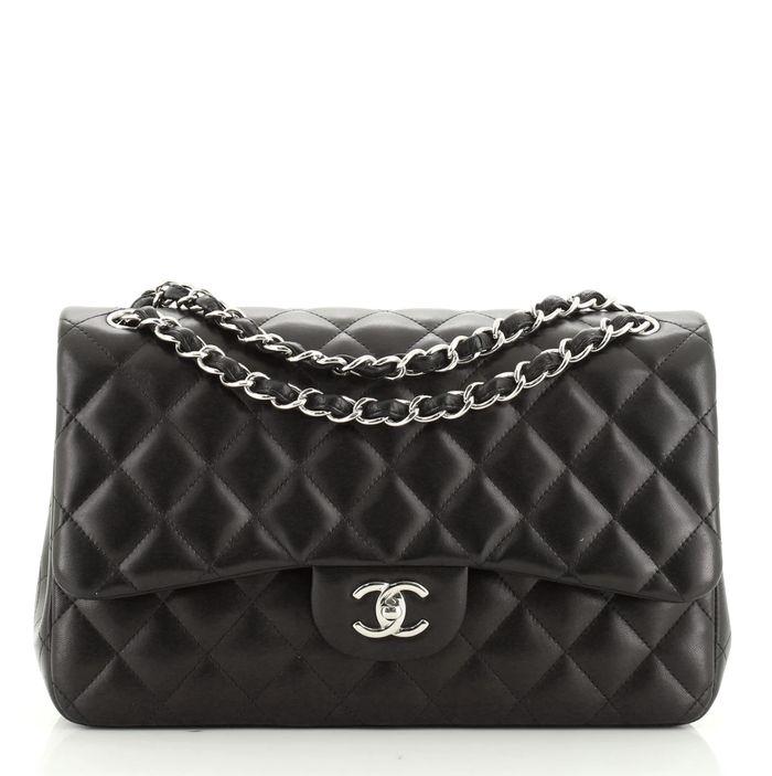 Chanel Classic Double Flap Jumbo Bag