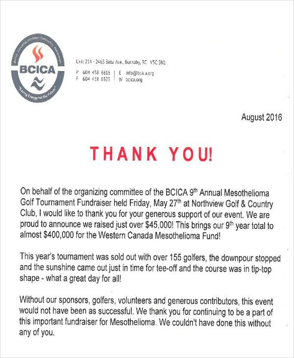 volunteer appreciation letter sample volunteer thank you letter fund raiser thank you letter sample - Volunteer Appreciation Letter Sample