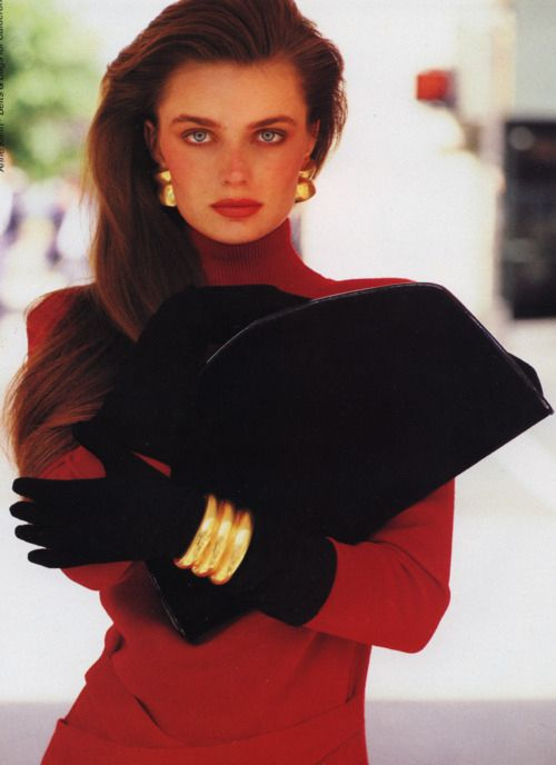 Paulina porizkova: ''They totally loved themselves'' / 45 Reasons Why Supermodels Were Better In The '80s