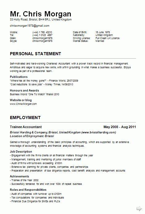 Example Of A Cv Resume Free Cv Template Curriculum Vitae Template - what is a cv resume examples