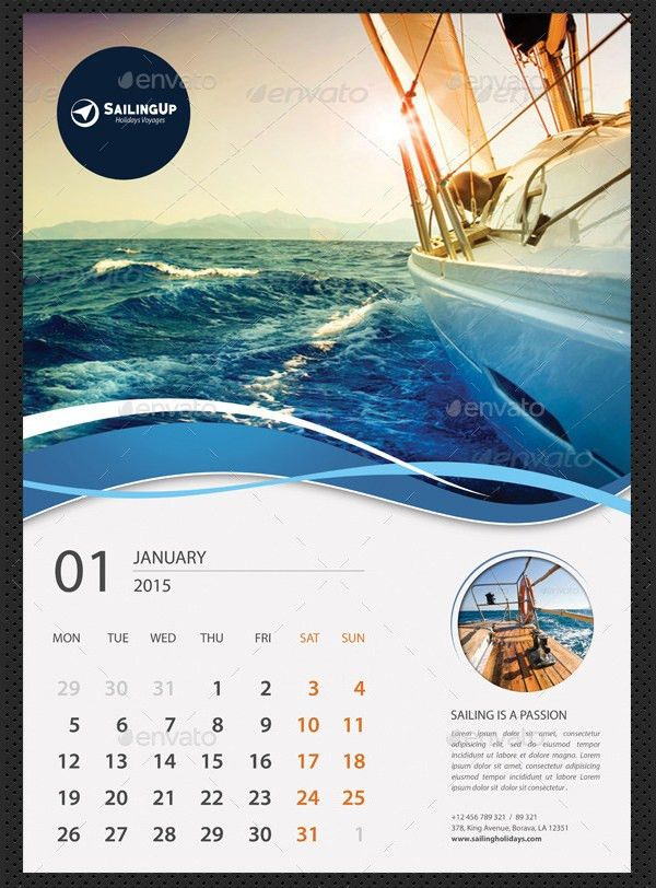 Calendar Sample Design 40 Sample 2015 Calendar Templates Designs - sample 2015 calendar