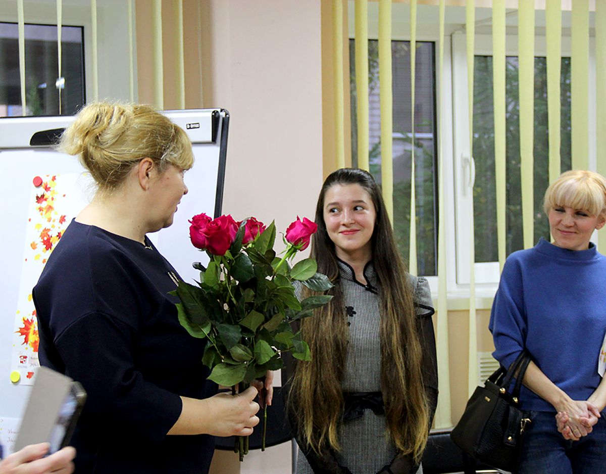 Анна Шабалина - участница выставки