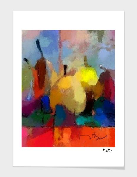 Discover «FivePears-45», Numbered Edition Fine Art Print by Don Berg - From $24.9 - Curioos