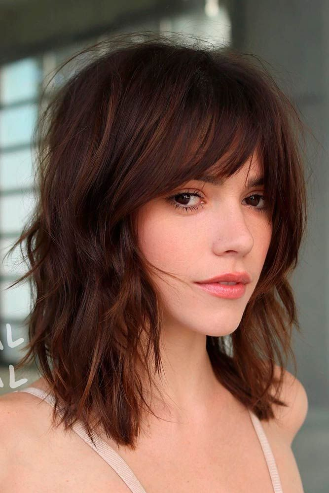 """Stylish Layered Long Bob With Bang <a class=""""pintag"""" href=""""/explore/layeredhairstyles/"""" title=""""#layeredhairstyles explore Pinterest"""">#layeredhairstyles</a> <a class=""""pintag"""" href=""""/explore/lobhairstyles/"""" title=""""#lobhairstyles explore Pinterest"""">#lobhairstyles</a> ★ Cute hairstyles for medium hair are the solution for those who are not afraid of something new. Don't you dare wasting what is granted to you! <a class=""""pintag"""" href=""""/explore/glaminati/"""" title=""""#glaminati explore Pinterest"""">#glaminati</a> <a class=""""pintag"""" href=""""/explore/lifestyle/"""" title=""""#lifestyle explore Pinterest"""">#lifestyle</a> <a class=""""pintag"""" href=""""/explore/cute/"""" title=""""#cute explore Pinterest"""">#cute</a> hairstylesformediumhair<p><a href=""""http://www.homeinteriordesign.org/2018/02/short-guide-to-interior-decoration.html"""">Short guide to interior decoration</a></p>"""
