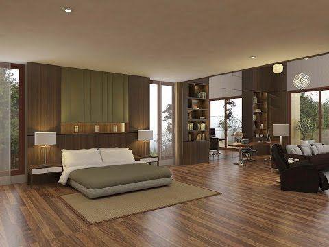 Sketchup Bedroom Interior Build + Vray Render - YouTube