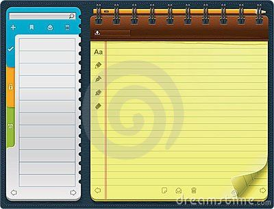 notepad template for word - Selol-ink
