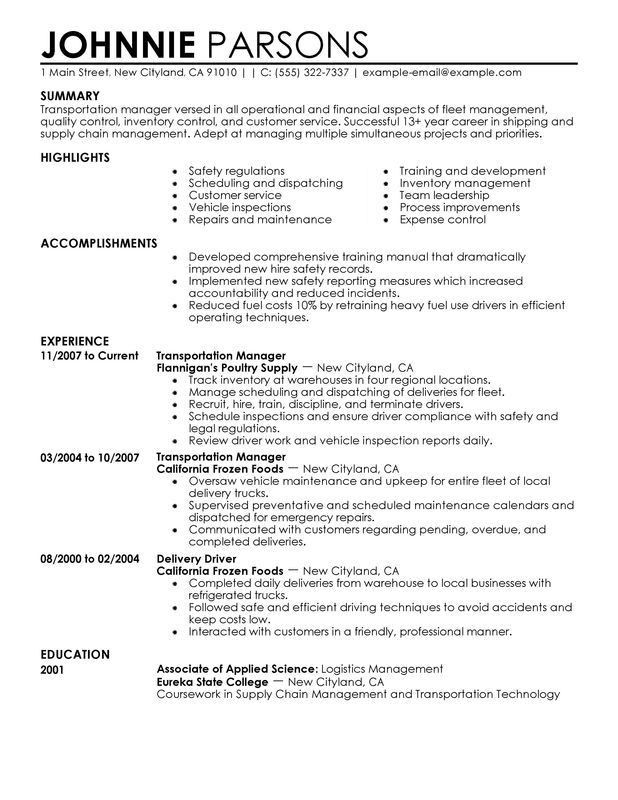 office manager cv examples