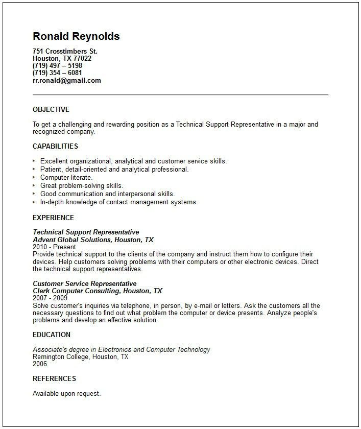 busser resume