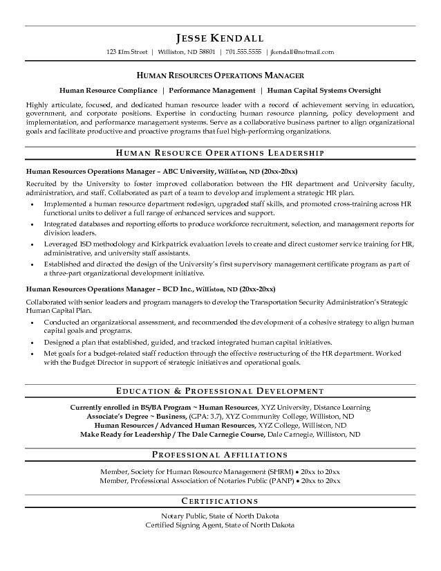 proactive human resource resume - Ozilalmanoof