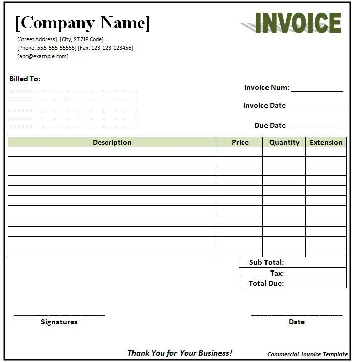 Invoice Format Template   30+ Free Word, PDF Documents Download .  Copy Of An Invoice Template
