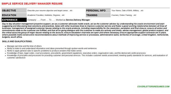 Delivery Supervisor Cover Letter | Node2003 Cvresume.paasprovider.com