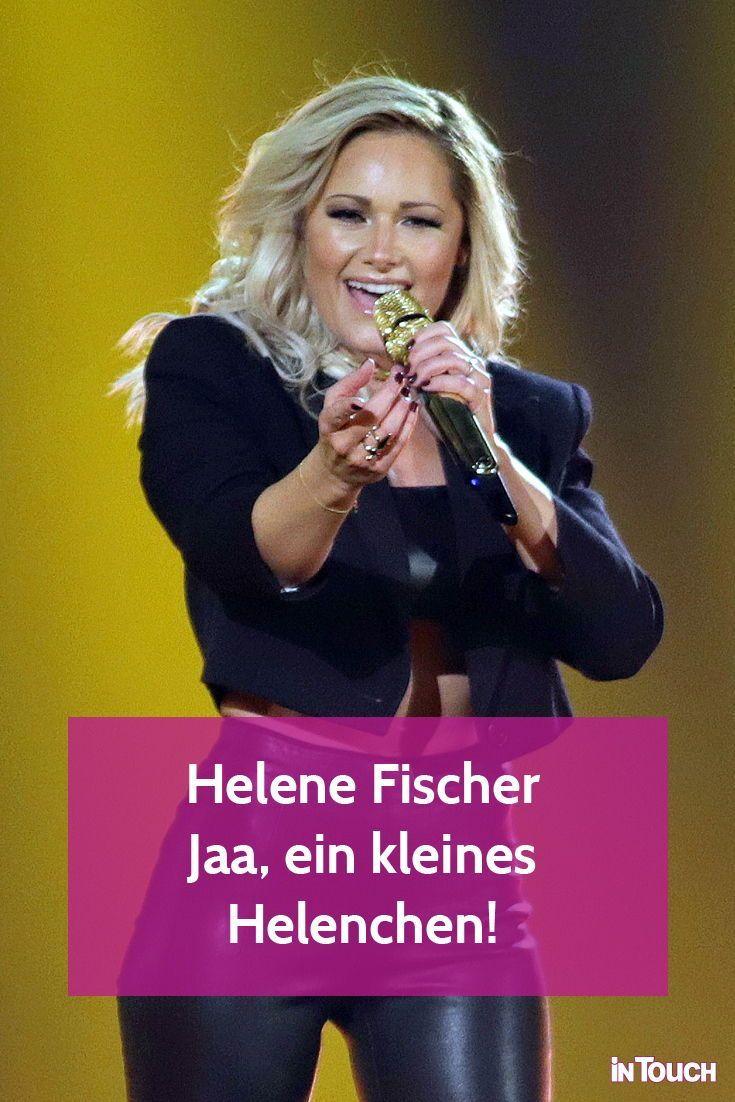 Helene Fischer: Jaa, ein kleines Helenchen!