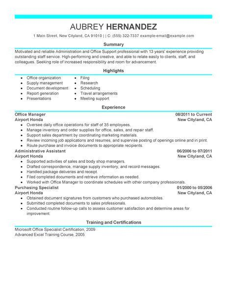 Example Of A Modern Resume  Examples Of Resumes