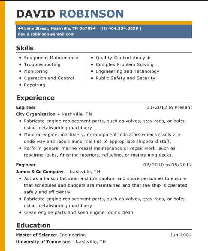 The Perfect Resume Format example of perfect resume u2013 inssite - examples of a perfect resume