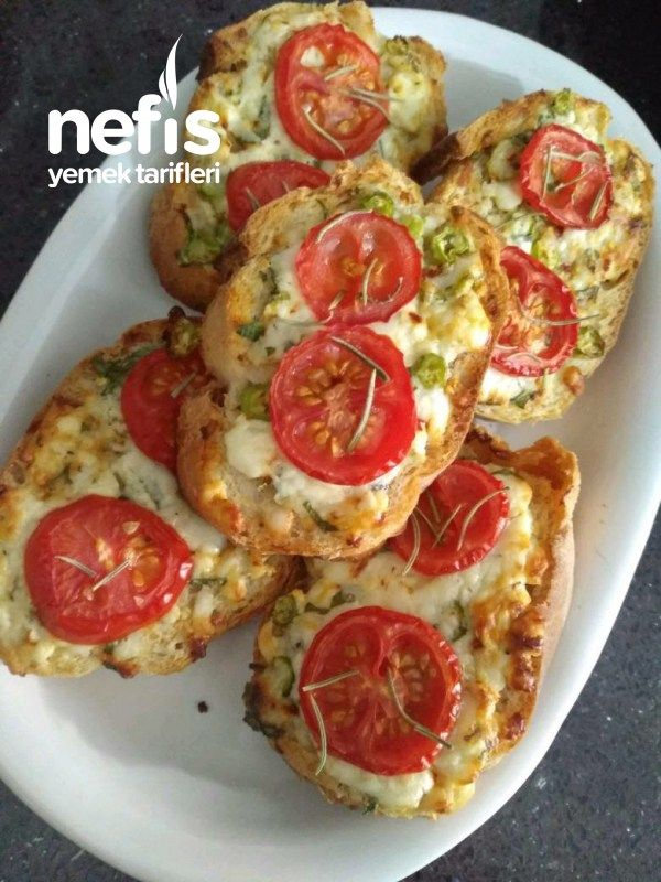 İki Peynirli Ekmekler - Nefis Yemek Tarifleri