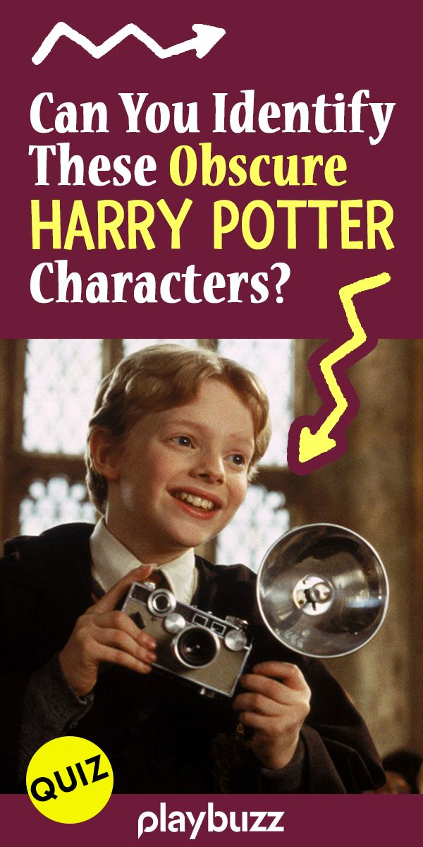 Can You Identify These Obscure Harry Potter Characters?