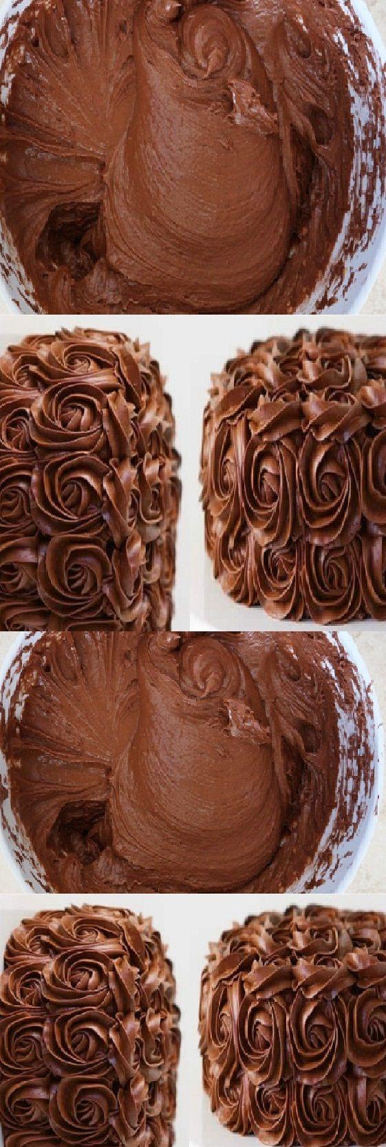 Como Hacer glaseado de mantequilla de chocolate batida
